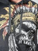 Толстовка Индеец череп