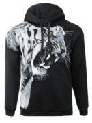 Толстовка Тигр с клыками