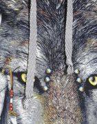 Толстовка Волк в наушниках