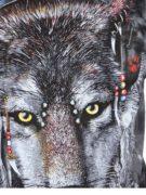Футболка Волк в наушниках