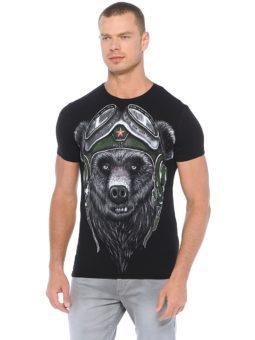 Медведь в шлеме