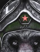 Футболка Медведь в шлеме