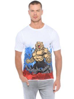 Медведь с флагом