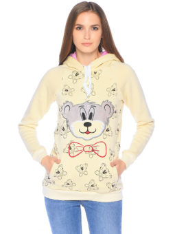 Мишка бантик вышивка