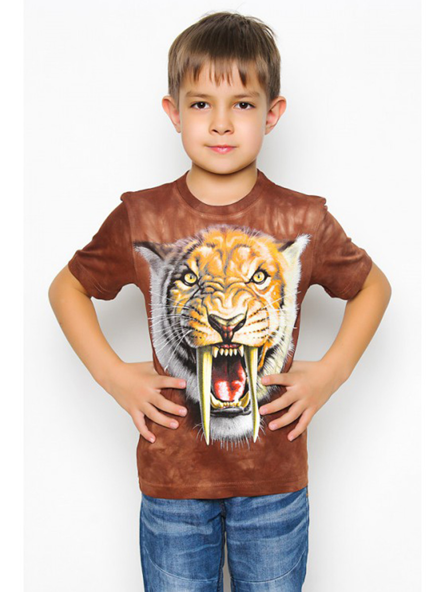 Футболка Саблезубый тигр