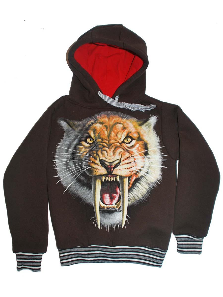 Толстовка Саблезубый Тигр